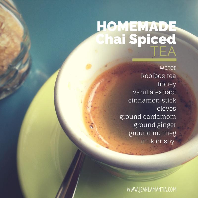 Homemade Spiced Chai Tea