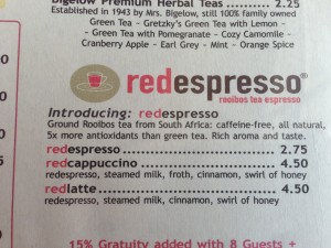 Rooibos, The Red Tea