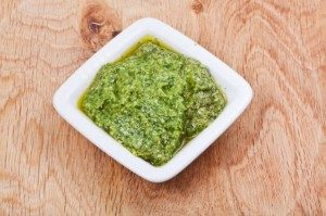 Parsley Pesto – Vegan Version
