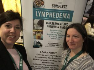 Registered Dietitian Jean LaMantia and Physiotherapist Ann DiMenna co-authored The Complete Lymphedema Management and Nutrition Guide in 2019