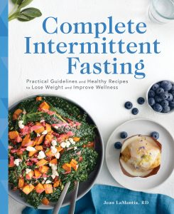 Cover of book called Complete Intermittent Fasting by Jean LaMantia, RD