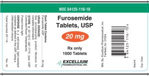 box of furosemide tablets